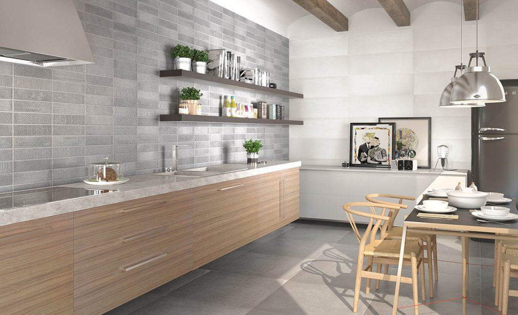 Cerámica para cocina y baño. Viste las paredes de tu hogar